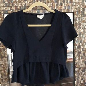 dRA Navy Top